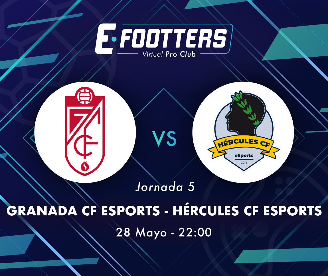 Imagen del Granada - Hércules de la quinta jornada del Campeonato Footters