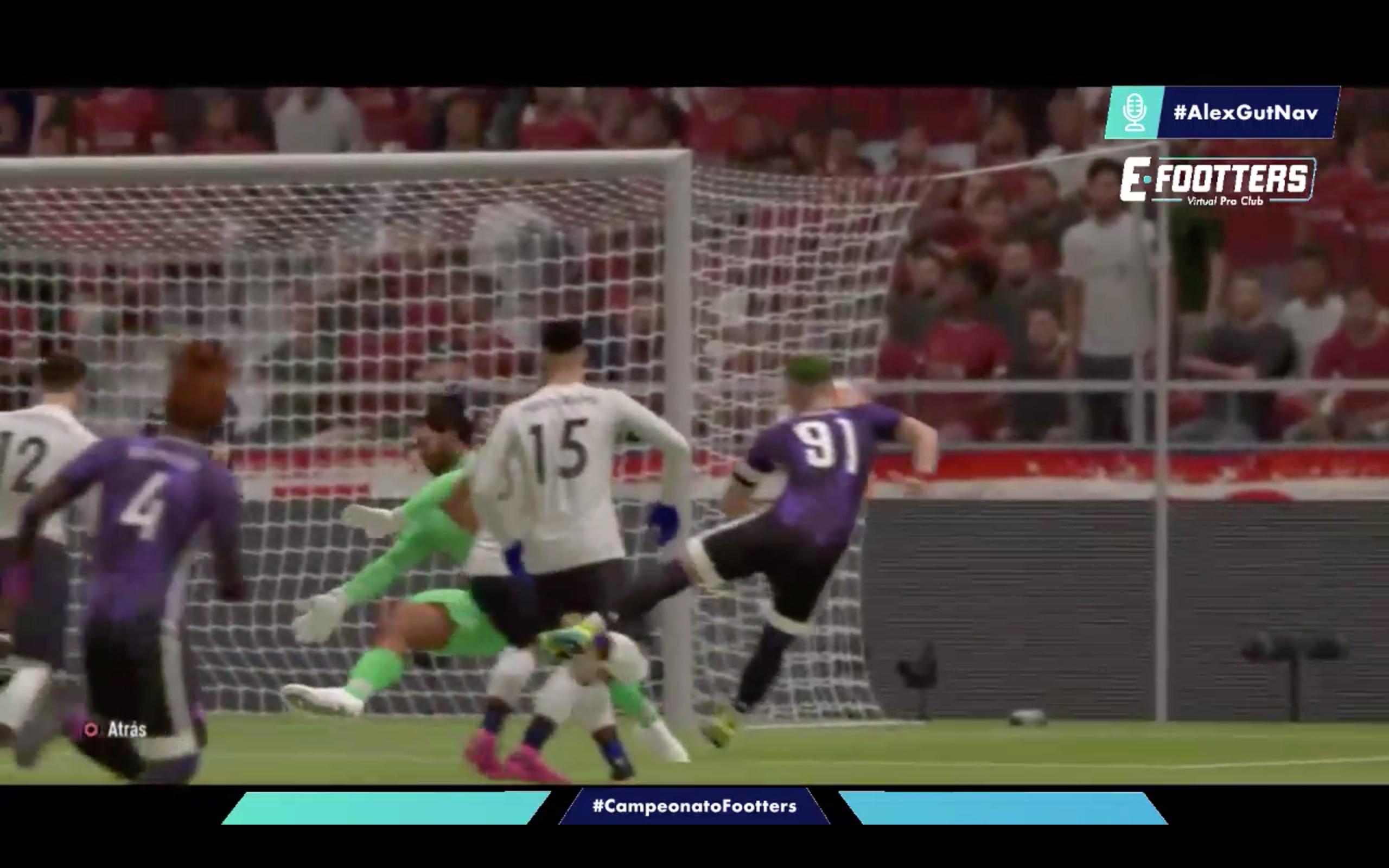 Imagen de Chani marcando el gol de la victoria ante el Terrassa