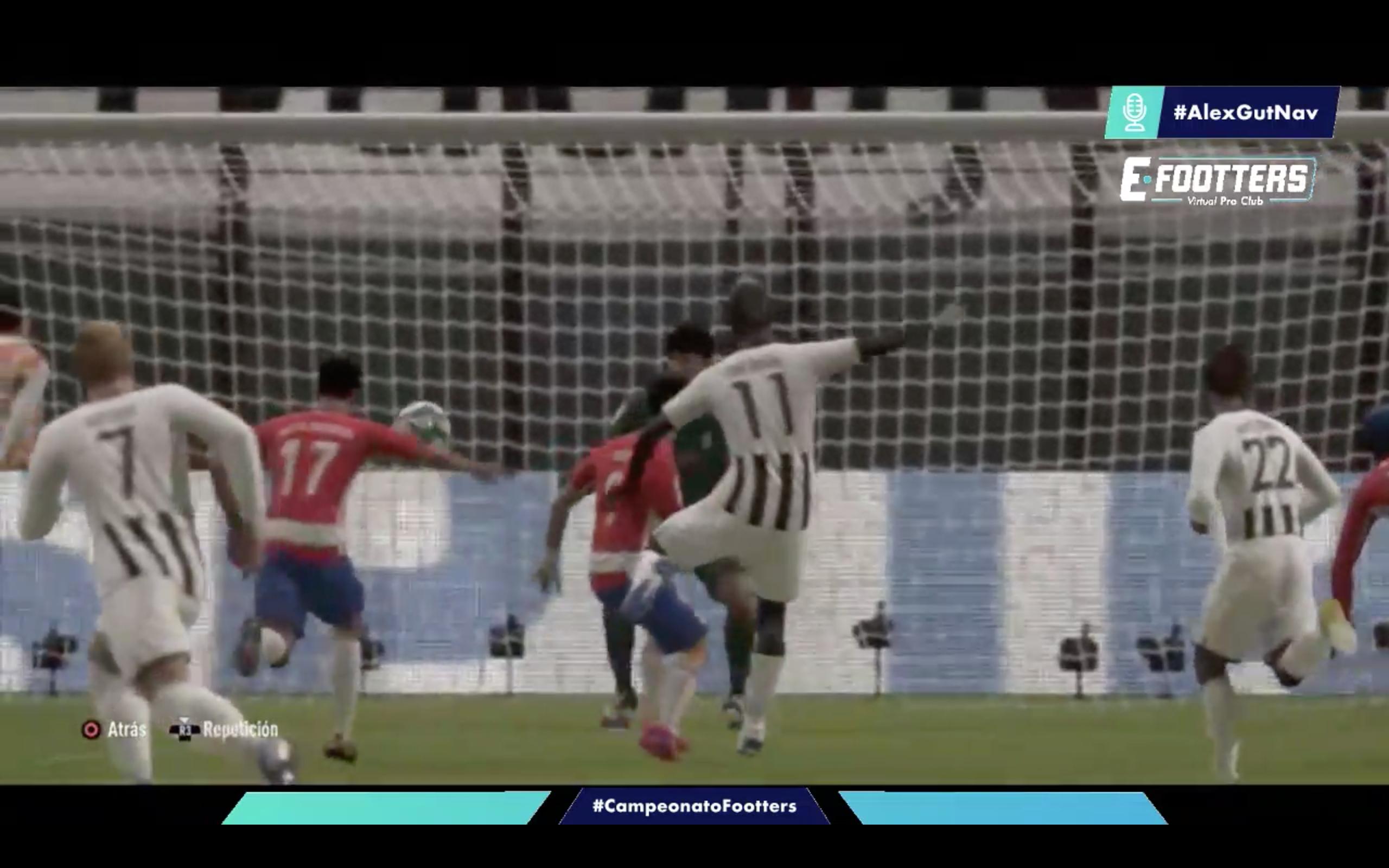 Imagen del gol del Badajoz que le daba su primera victoria