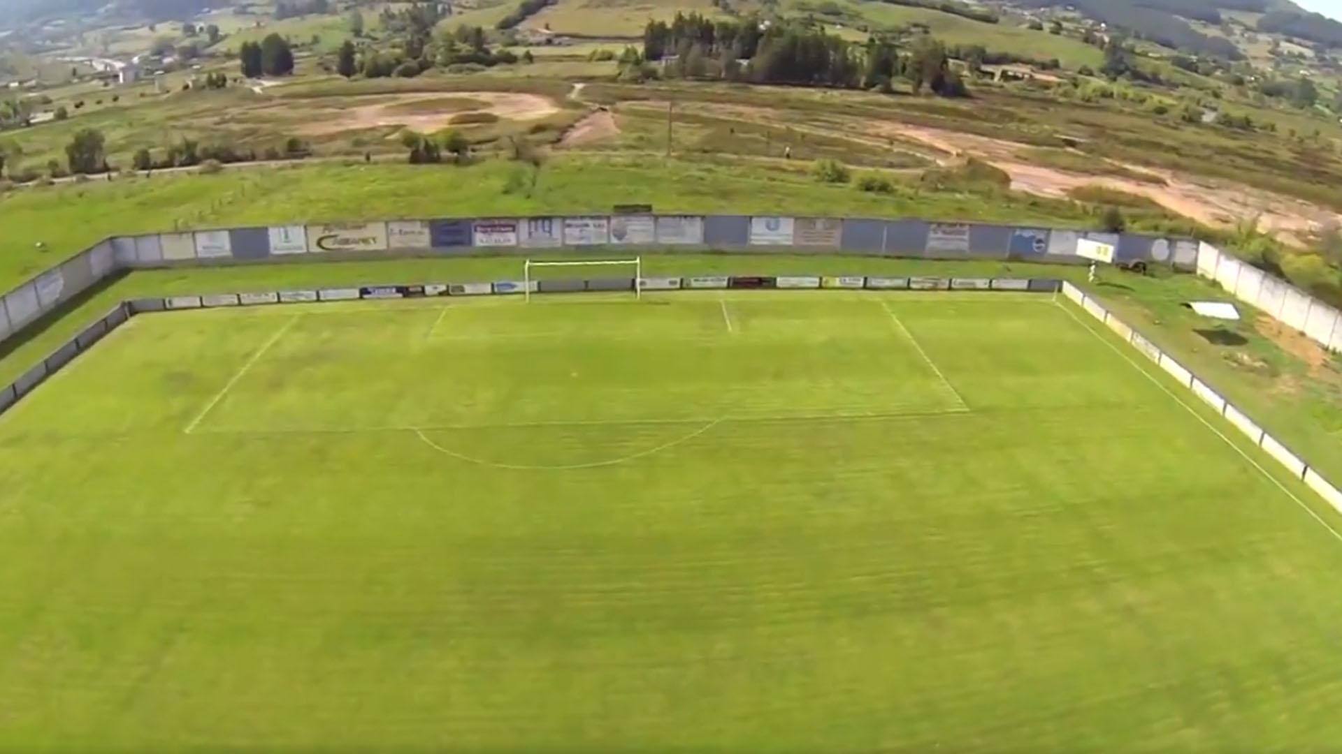 Vista aérea del Estadio del Lealtad