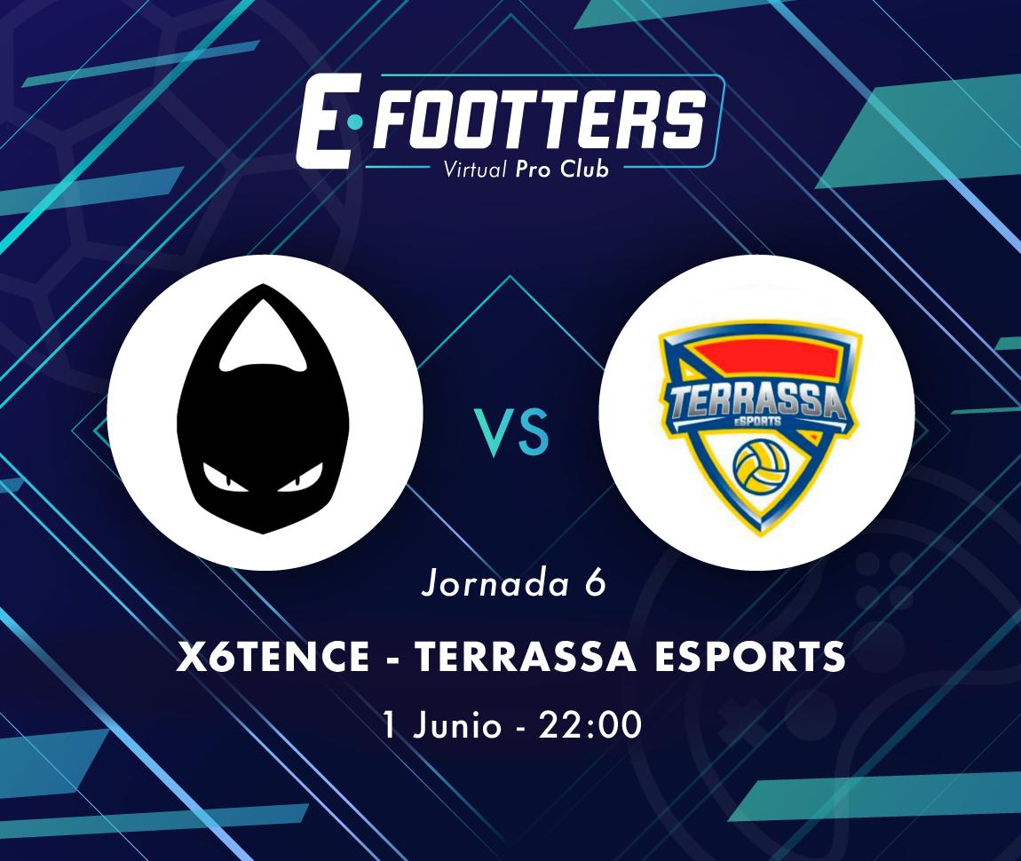 Imagen del x6tence - Terrassa, primer partido del segundo día de la jornada seis