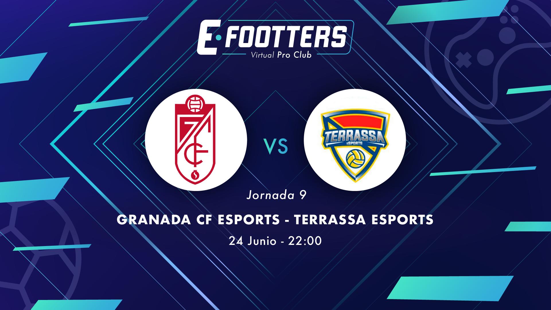 Granada - Terrassa, partido de la jornada 9
