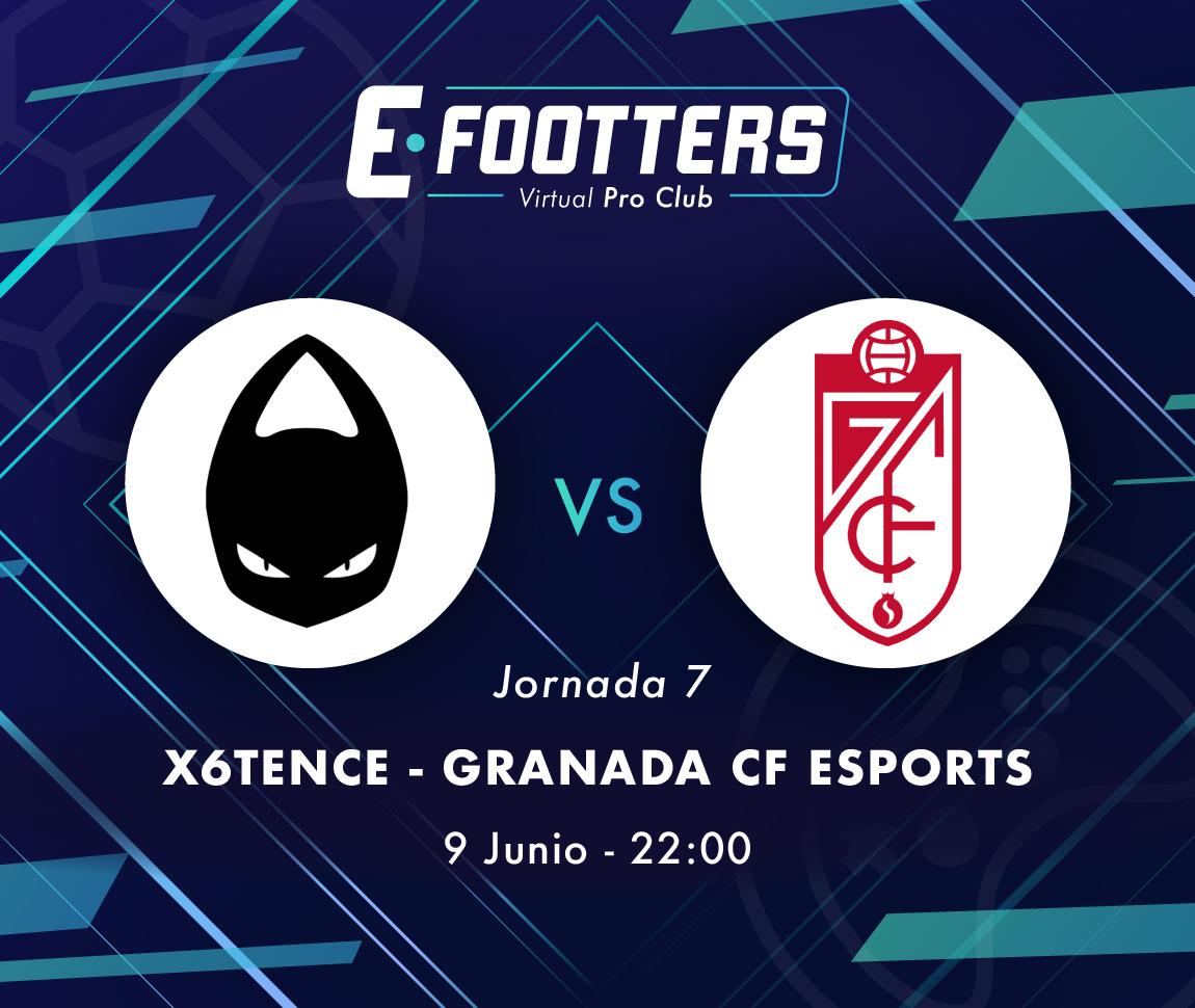 x6tence - Granada y UESA - Nàstic, partidos del día tres de la jornada siete