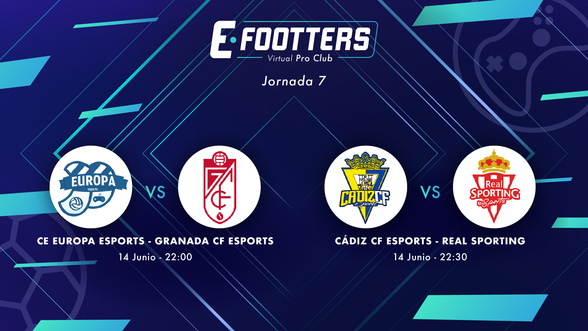 Imagen de Europa - Granada y Cádiz - Sporting de la octava jornada