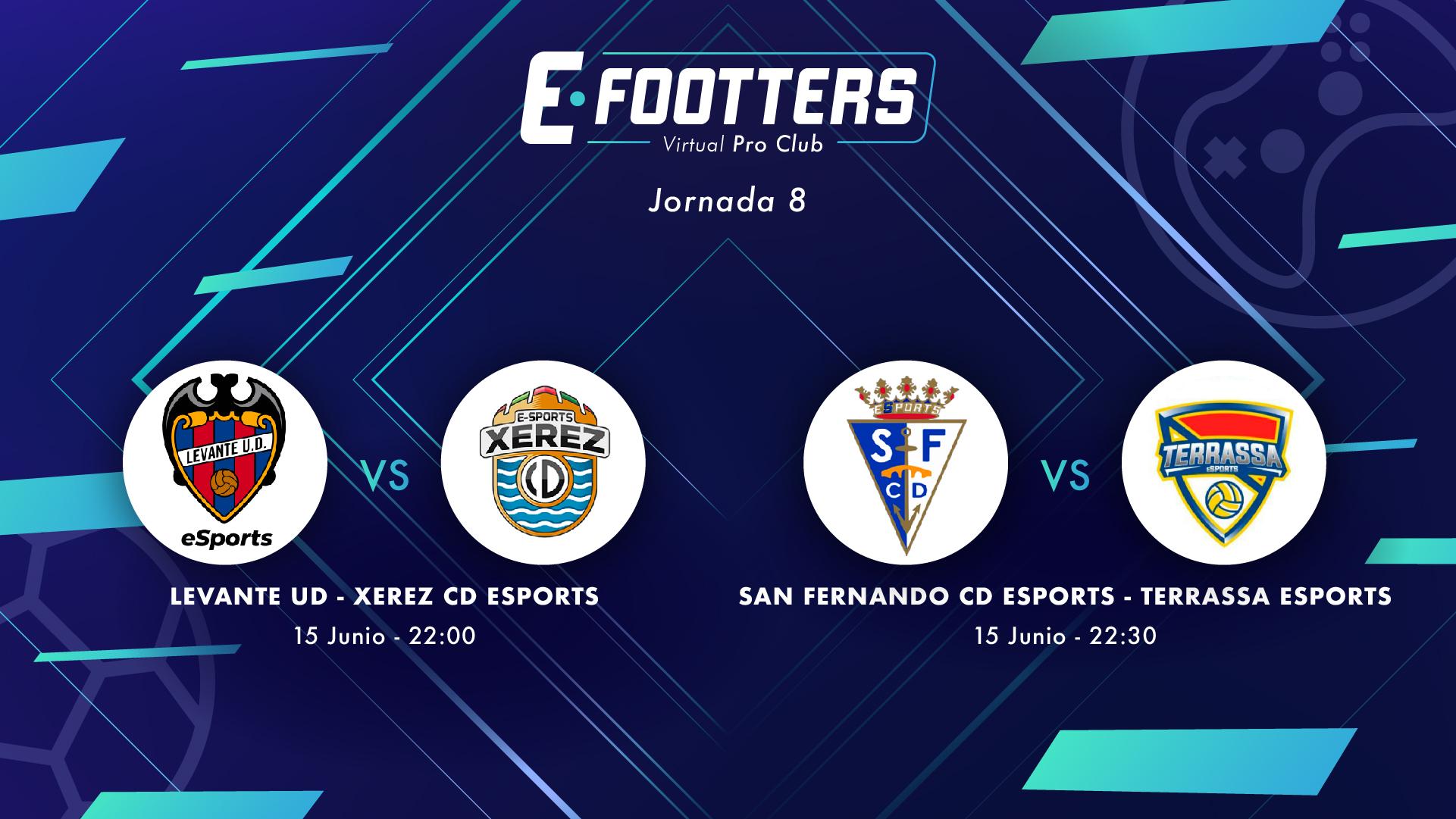 Levante - Xerez y San Fernando - Terrassa, partidos de la jornada 8