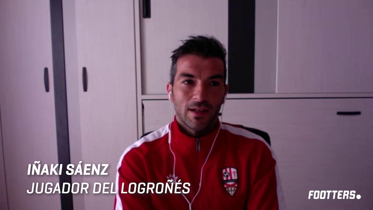 Iñaki Sáenz en la entrevista
