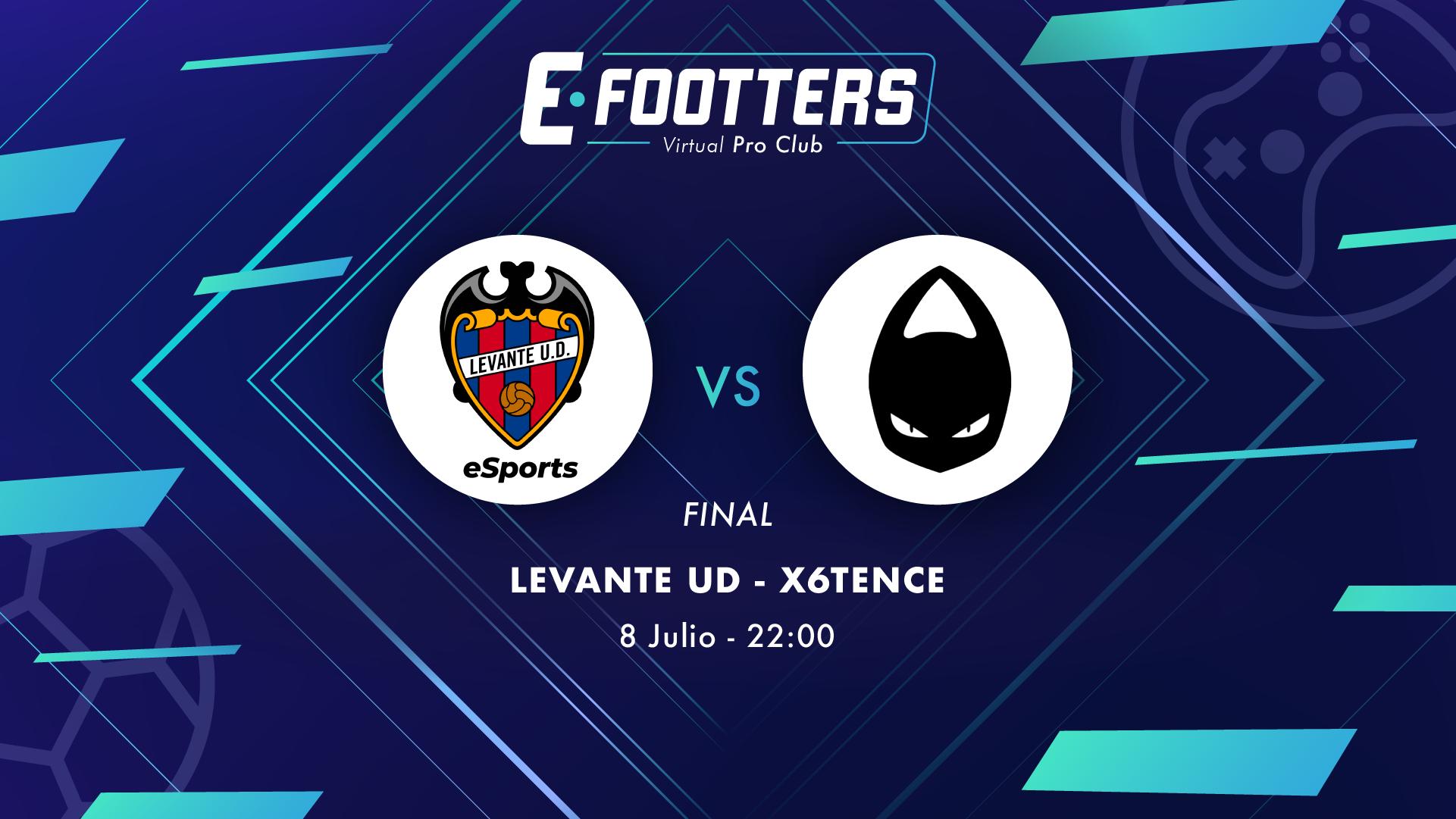 Levante UD - x6tence, partido correspondiente a la gran final del Campeonato Footters