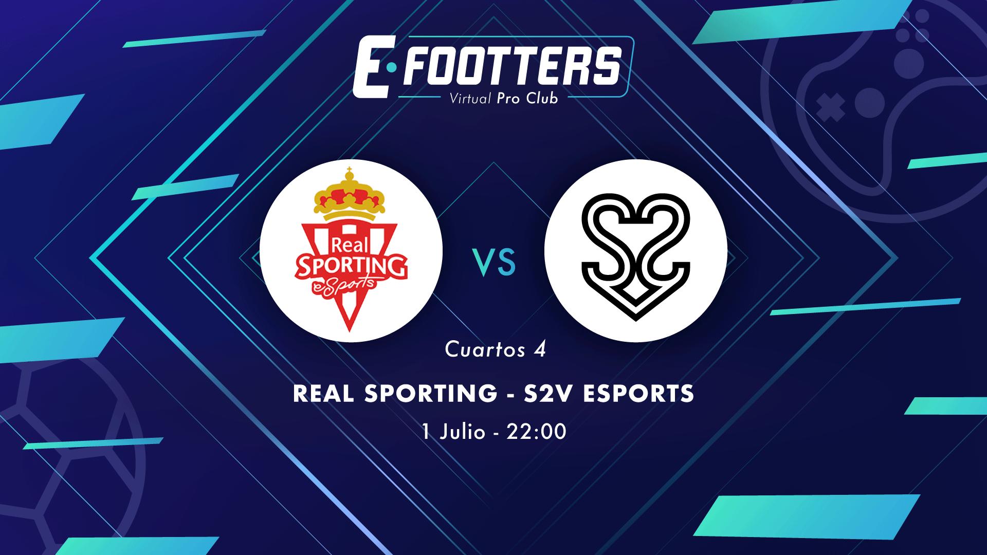 Sporting - S2V, cuarta eliminatoria de cuartos de final