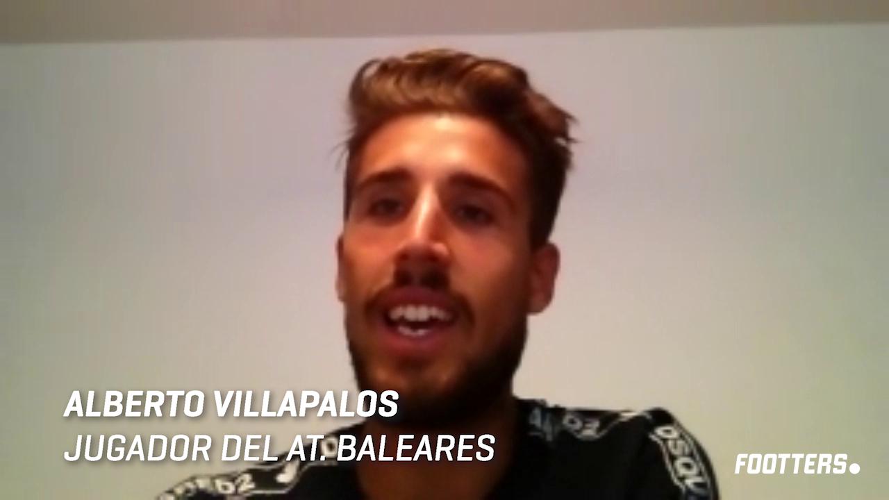 Alberto Villapalos durante la entrevista