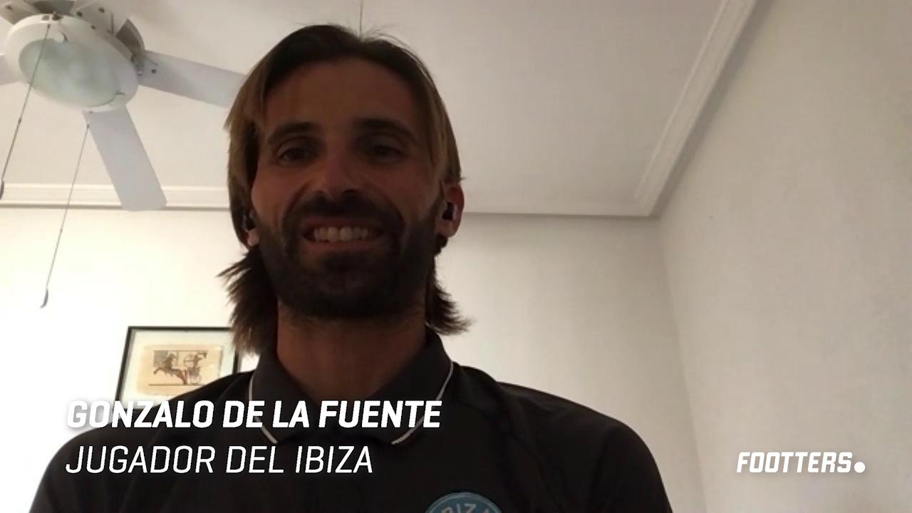 Gonzalo de la Fuente durante la entrevista